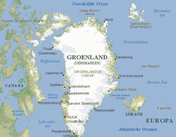 Le chef viking Erik le Rouge découvre le Groenland