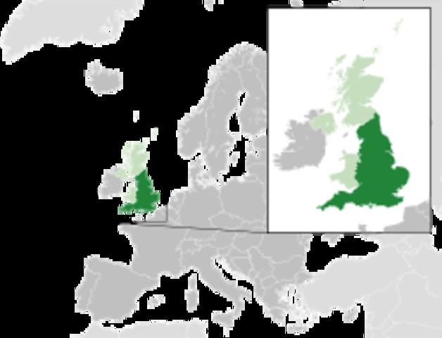 Conquête de l'Angleterre pas les Danois