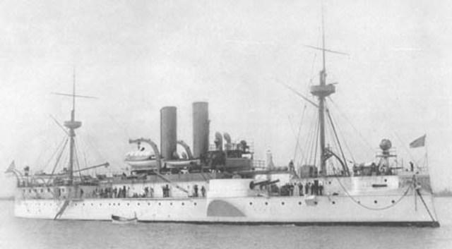 USS maine is blown up