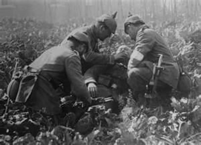 World War I ends
