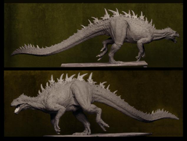 Dinosaur Models Begin Production