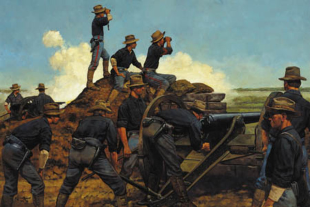 William Mcinley declares war on spain begins spanish american war