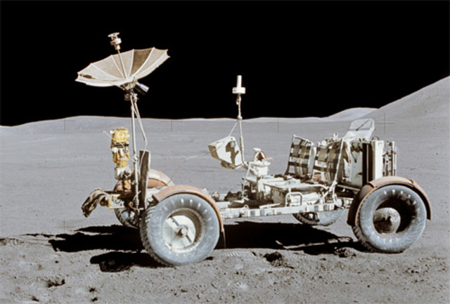 First rover to be driven on the moon