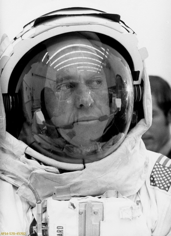 First U.S. Astronaut into space