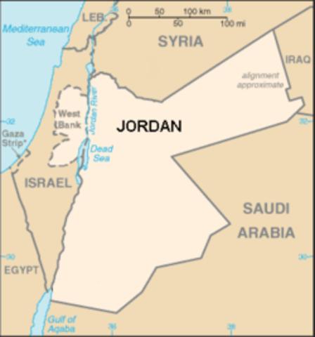 Jordan Annexes West Bank
