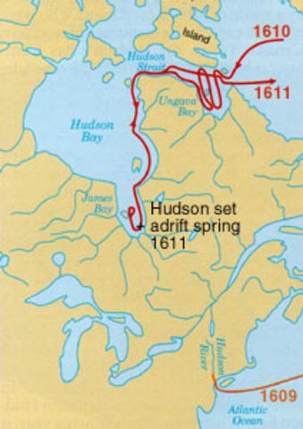 Hudson Arrives