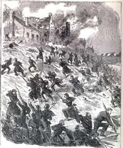 Defeat at Fredericksburg