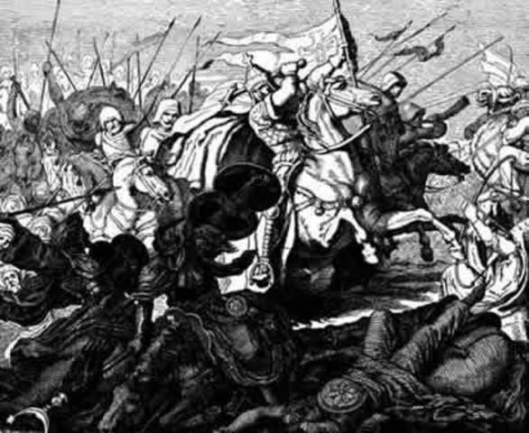 Derrota dels musulmans a Poitiers