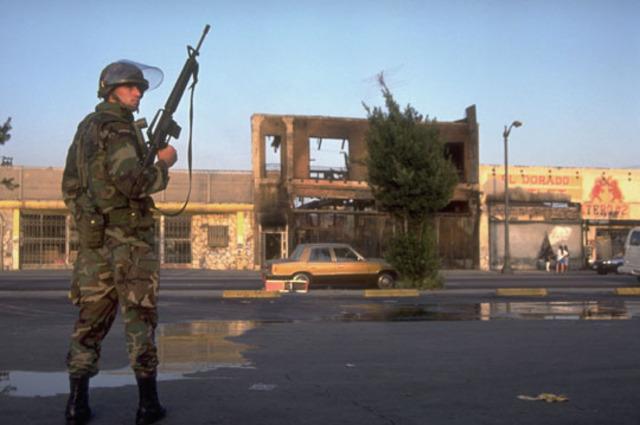 Rodney King Riots in Los Angelos