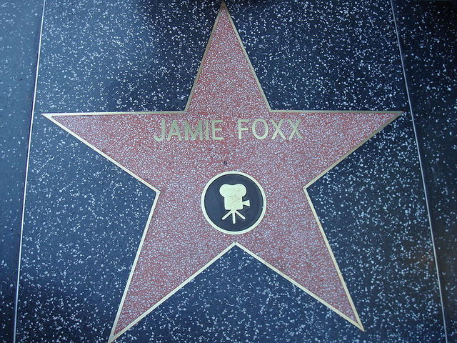 His name on the Star of hollywood