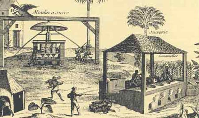 Franska och Engelska kolonier