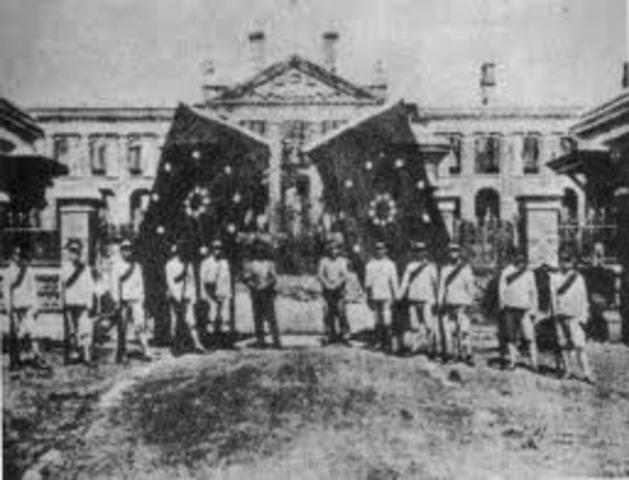 Qing Court Abicates