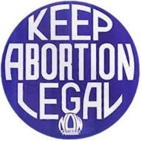 Abortion legalization