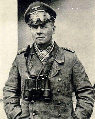 Comienza la contraofensiva del Afrika korps al mando de E. Rommel