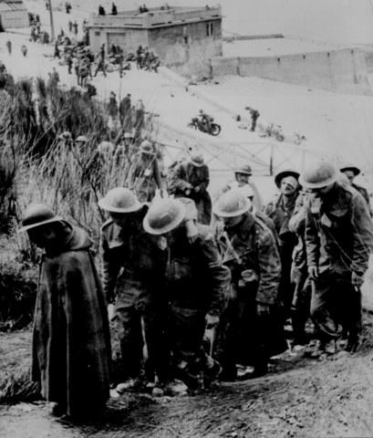 Huída de las tropas inglesas por Dunkerque