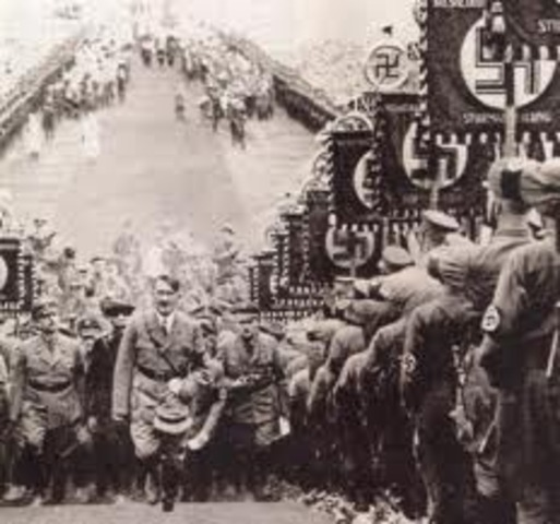 Victoria demcrática del partido Nazi