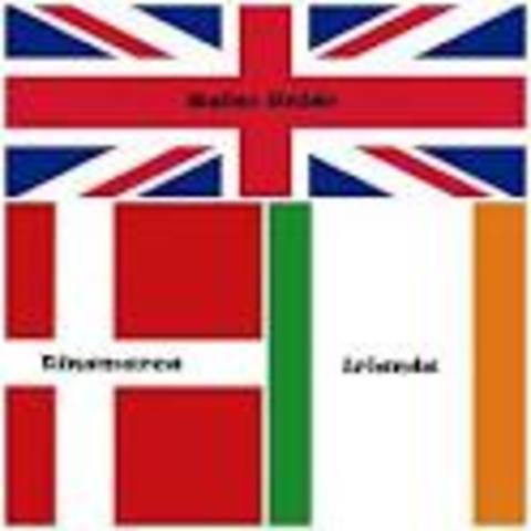 Incorporación de Reino Unido,Irlanda y Dinamarca a la UE