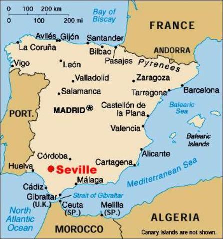 Échec d'un raid Viking a Séville