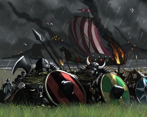 Attaque des Vikings a Istanbul.