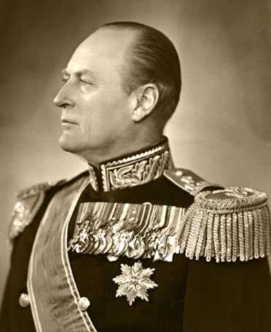 Olav le 1er devient roi de Norvège et déclare ce territoire Chrétien.
