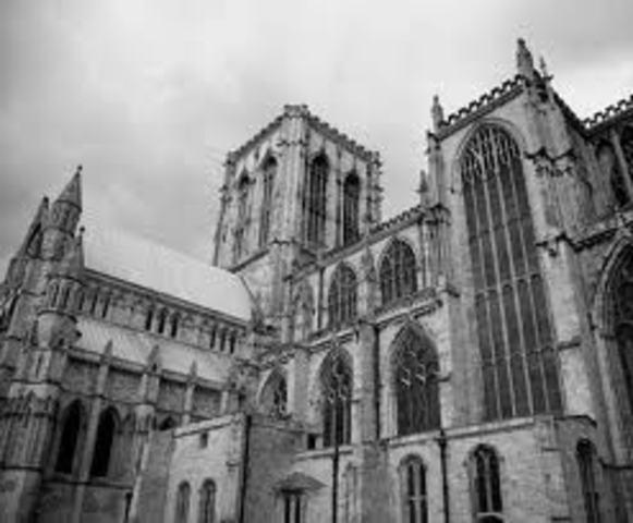 Établissement d'un royaume à York, Angleterre, par des Vikings