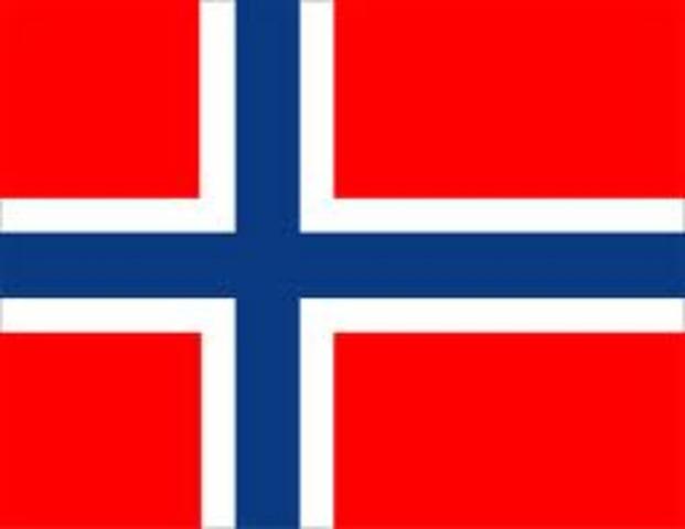 La Norvège est sous la domination des Danois