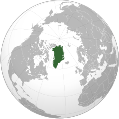 Le chef viking Erik le Rouge decouvre le Groenland.