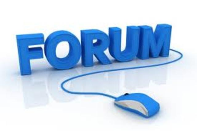 Forums have been added