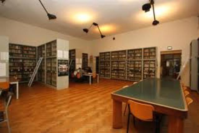 Biblioteca del Liceo Scientifico