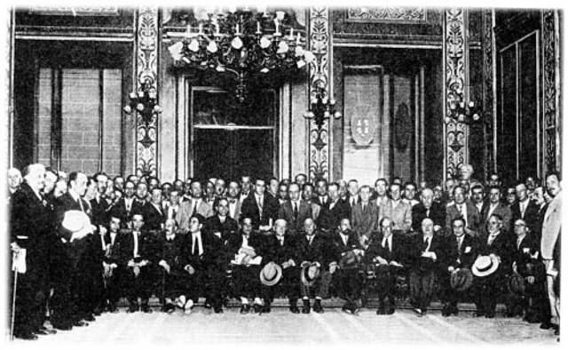Reunión de las Cortes Constituyentes