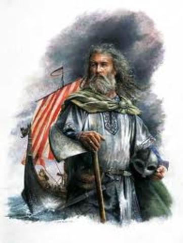 Le chef viking Rollon obtient des terres des Francs et fonde la Normandie en France