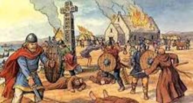 Attaque des Vikings a Constantinople (Instanbul)