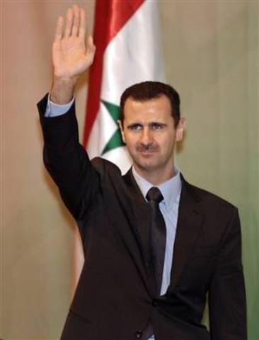 Bashar succeds Ashad