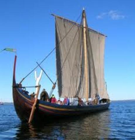Raids des vikings le long cote mediterraneenne