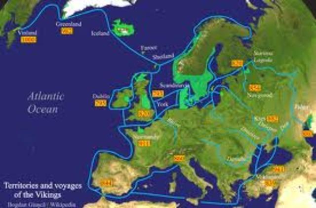 Le chef viking Rollon obtient de terre des Francs