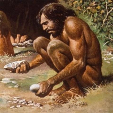 """Homo sapiens: (""""hombre racional"""") Antigüedad: De 150.000 a 200.000 años"""