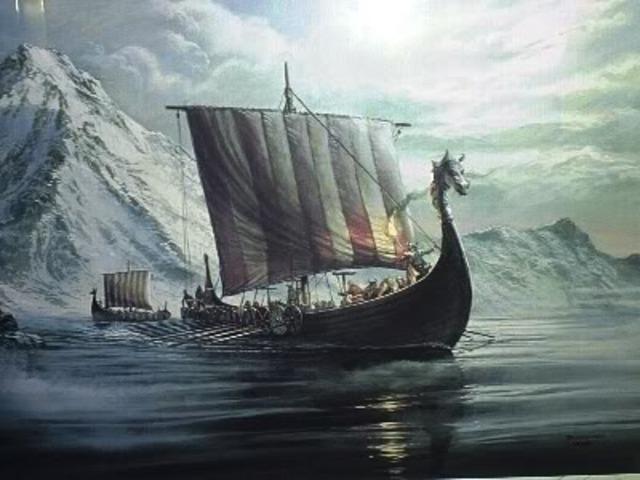 Les Vikings abandonnet la clonie de Vinland sur le cote est de l'Amerique de Nord