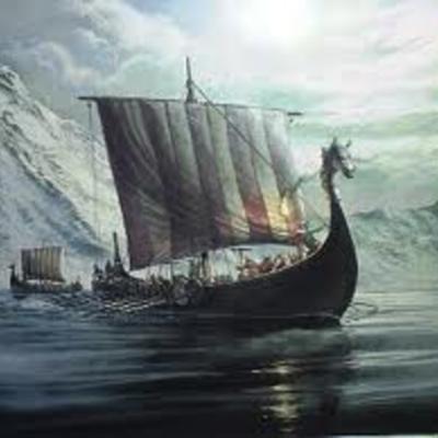 Les Vikings  dans l'histoire - par Simon Vautrin 8B/L timeline