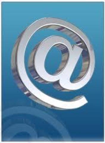 el @ como simbolo del correo