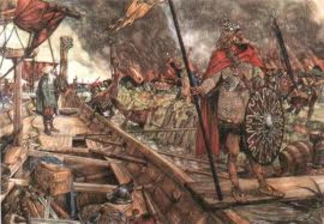 Attaque Des Vikings Contre Constaniople