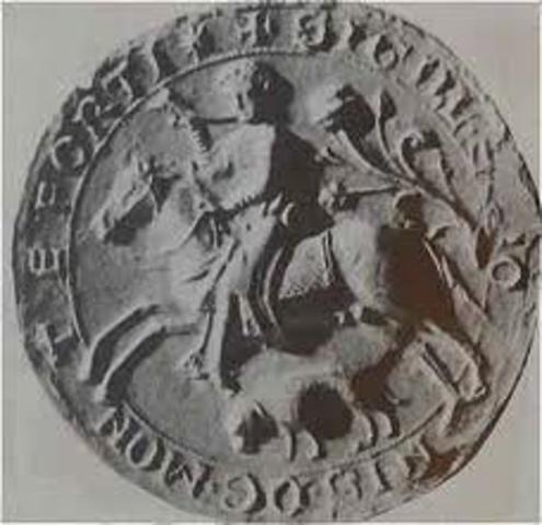Etablissement d'un royaume a York, Angleterre pas des Vikings