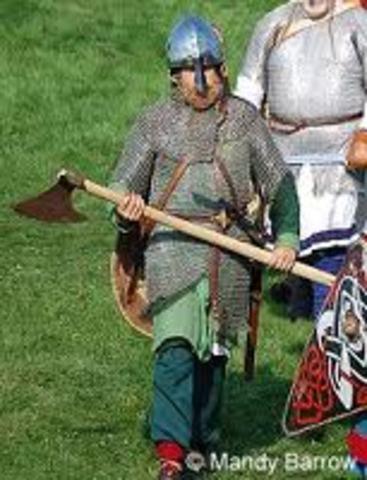Etablissement d'un royaume a York, Angleterre par des Vikings