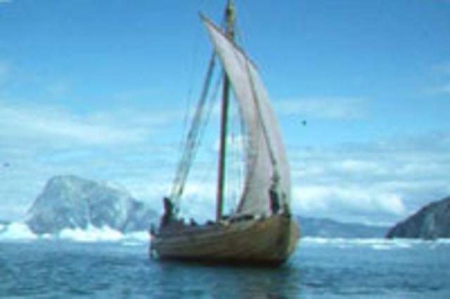 Les Vikings abandonnent la colonie de Vinland sur la côte est de l'Amérique du Nord.