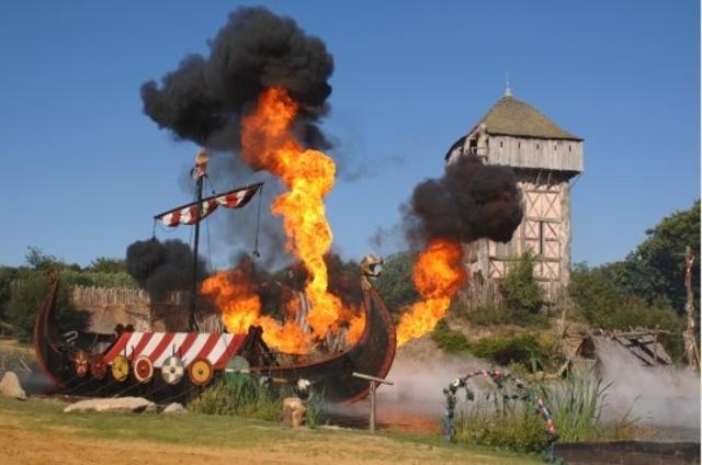debut des attaques des vikings sure l'angleterre