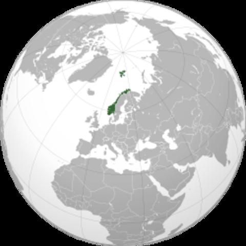 La Norvège est sous la dominion des Danois