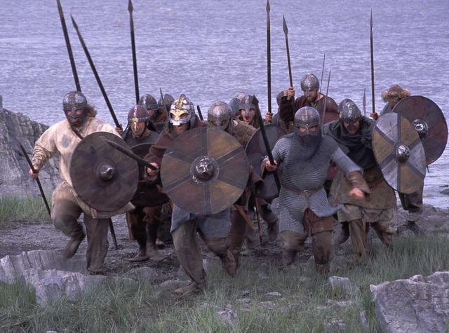 Debut des attaques de vikings en Angleterre