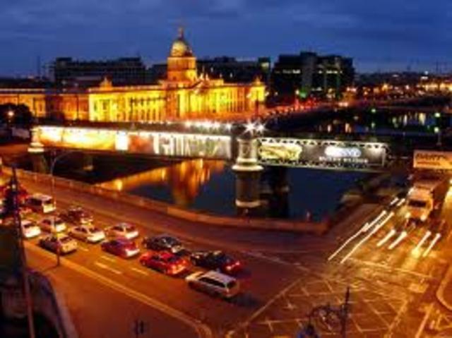 Fondation de la ville Dublin par les colons Vikings