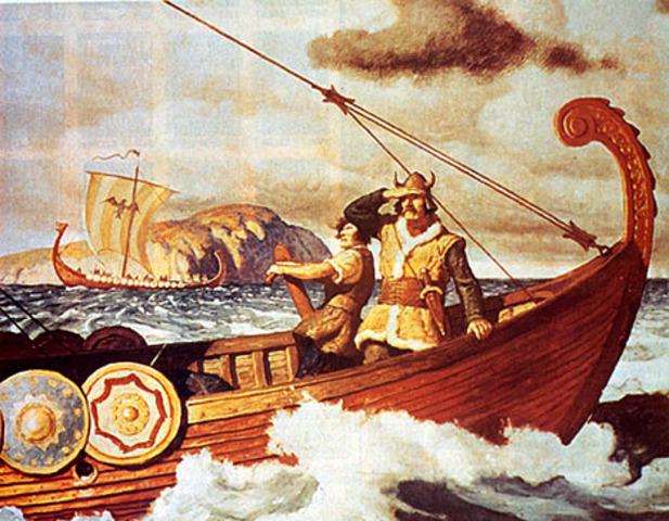 Etablissement de colonies de Vikings Norvegiens a Dublin et alleurs en Irlande