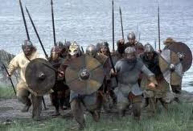 Echec d'un raid viking à Séville (Espagne)