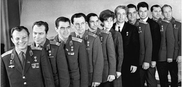 Сформирован первый отряд советских космонавтов